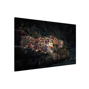 Lavagna magnetica - Spotlighted Manarola - Formato orizzontale 3:2