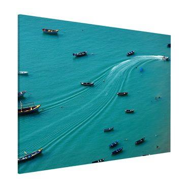 Lavagna magnetica - Pesca barche ancorate - Formato orizzontale 3:4