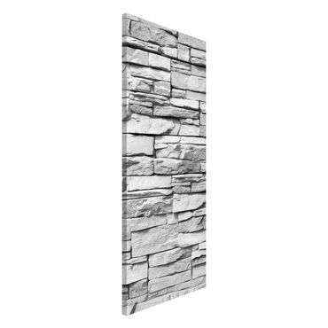 Lavagna magnetica - Ashlar Masonry - Panorama formato verticale