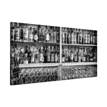 Lavagna magnetica - Bar Black White - Panorama formato orizzontale