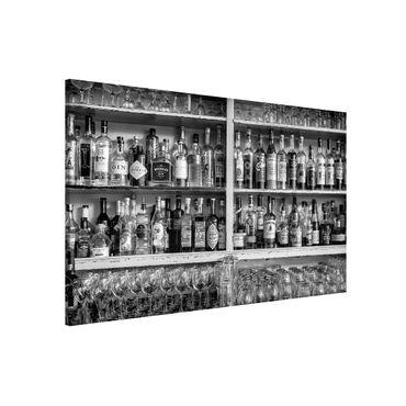 Lavagna magnetica - Bar Black White - Formato orizzontale 3:2