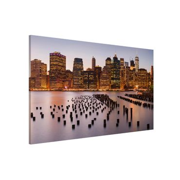 Lavagna magnetica - View Of Manhattan Skyline - Formato orizzontale 3:2