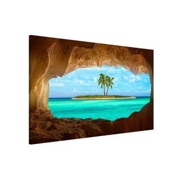 Lavagna magnetica - View into Paradise - Formato orizzontale 3:2