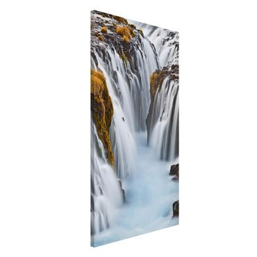 Lavagna magnetica - Bruarfoss Waterfall In Iceland - Formato verticale 4:3