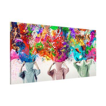 Lavagna magnetica - Brain Explosions - Panorama formato orizzontale