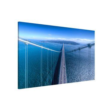 Lavagna magnetica - Bridge to the Islanda - Formato orizzontale 3:2