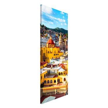 Lavagna magnetica - Colourful Houses Guanajuato - Panorama formato verticale