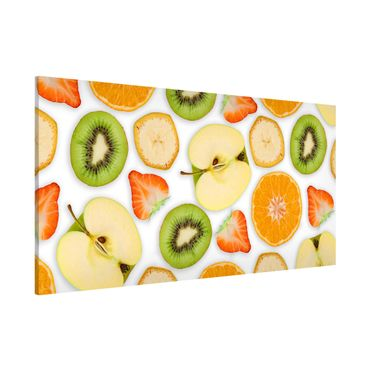 Lavagna magnetica - Colorful Fruit Mix - Panorama formato orizzontale