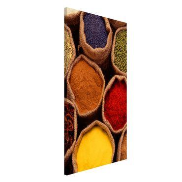 Lavagna magnetica - Colourful Spices - Formato verticale 4:3