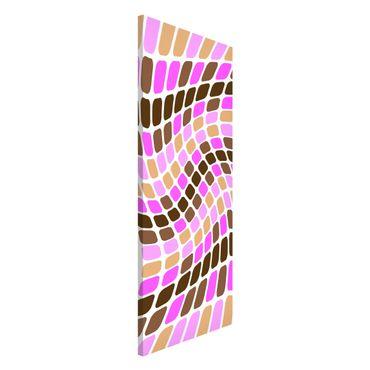 Lavagna magnetica - Dancing Squares - Panorama formato verticale