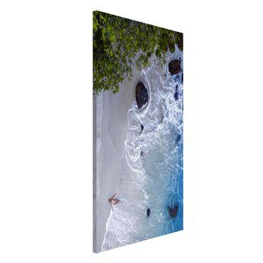 Lavagna magnetica - Paradiso sulla Terra - Formato verticale 4:3
