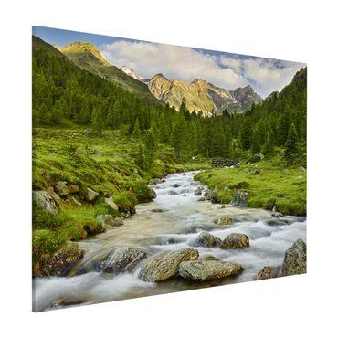 Lavagna magnetica - Debanttal National Park Hohe Tauern - Formato orizzontale 3:4