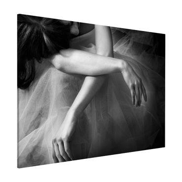 Lavagna magnetica - Le mani di un Ballerina - Formato orizzontale 3:4