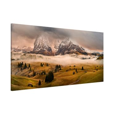 Lavagna magnetica - Dolomites Myths - Panorama formato orizzontale