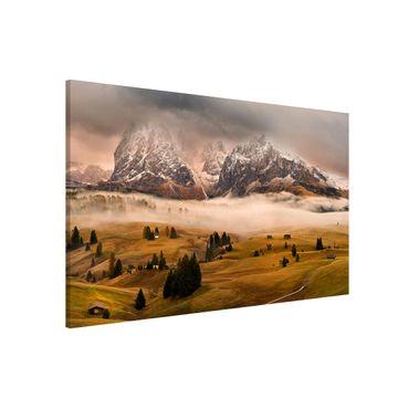 Lavagna magnetica - Dolomite Myths - Formato orizzontale 3:2