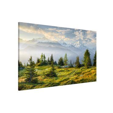 Lavagna magnetica - Emosson Wallis Switzerland - Formato orizzontale 3:2