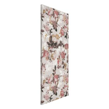 Lavagna magnetica - English Tea Roses - Panorama formato verticale