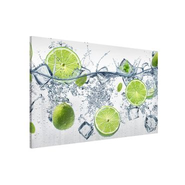 Lavagna magnetica - Refreshing lime - Formato orizzontale