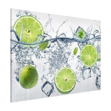Lavagna magnetica - Refreshing lime - Formato orizzontale 3:4