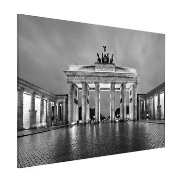Lavagna magnetica - Illuminated Brandenburg Gate II - Formato orizzontale 3:4