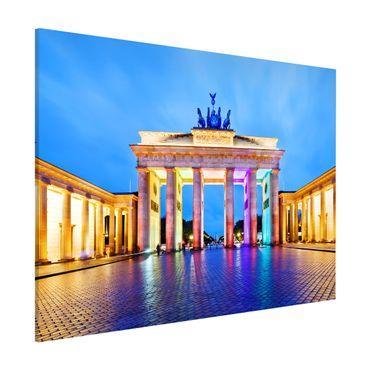 Lavagna magnetica - Illuminated Brandenburg Gate - Formato orizzontale 3:4