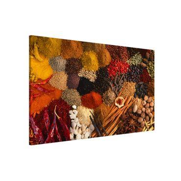 Lavagna magnetica - Exotic Spices - Formato orizzontale 3:2