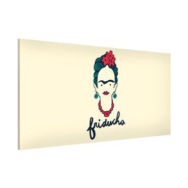 Lavagna magnetica - Frida Kahlo - Friducha - Panorama formato orizzontale