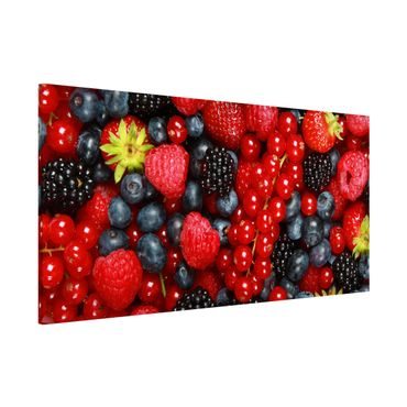 Lavagna magnetica - Fruity Berries - Panorama formato orizzontale