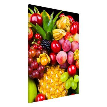Lavagna magnetica - Fruit Bokeh - Formato verticale