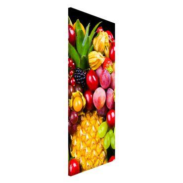 Lavagna magnetica - Fruit Bokeh - Panorama formato verticale