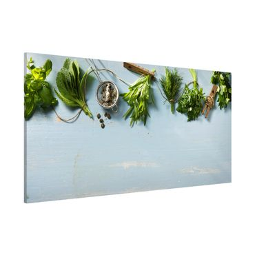 Lavagna magnetica - Bundled Herbs - Panorama formato orizzontale