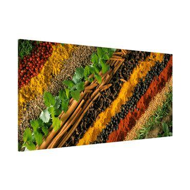 Lavagna magnetica - Spice Strips - Panorama formato orizzontale