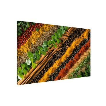 Lavagna magnetica - Spice Strips - Formato orizzontale 3:2