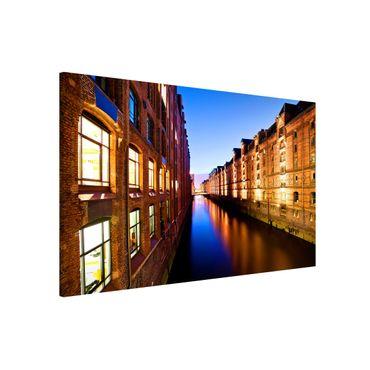 Lavagna magnetica - Hamburg Old Warehouse District - Formato orizzontale