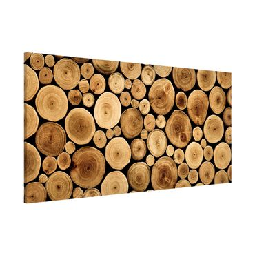 Lavagna magnetica - Homey Firewood - Panorama formato orizzontale