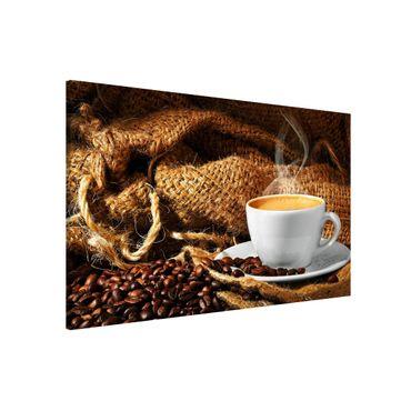 Lavagna magnetica - Morning Coffee - Formato orizzontale 3:2