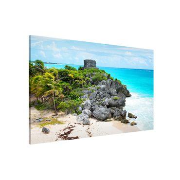 Lavagna magnetica - Caribbean Coast Tulum Ruins - Panorama formato orizzontale