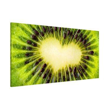 Lavagna magnetica - Kiwi Heart - Panorama formato orizzontale