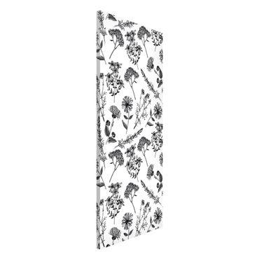 Lavagna magnetica - Herbal Nostalgia - Panorama formato verticale