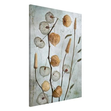 Lavagna magnetica - frutta Lanterna in autunno - Formato verticale 2:3
