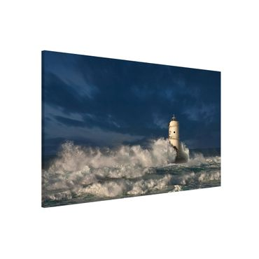 Lavagna magnetica - Lighthouse on Sardinia - Formato orizzontale 3:2