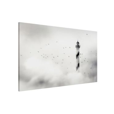 Lavagna magnetica - Lighthouse in Fog - Formato orizzontale 3:2
