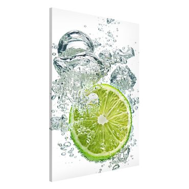 Lavagna magnetica - Lime Bubbles - Formato verticale