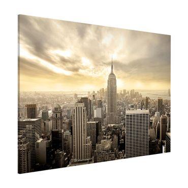 Lavagna magnetica - Manhattan Dawn - Formato orizzontale 3:4