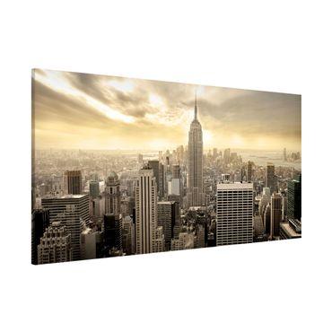 Lavagna magnetica - Manhattan Dawn - Panorama formato orizzontale