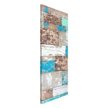 Lavagna magnetica - Maritime Planks - Panorama formato verticale