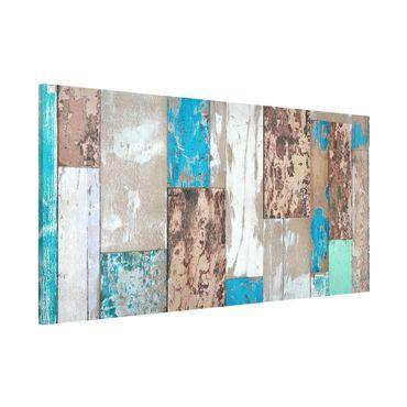 Lavagna magnetica - Maritime Planks - Panorama formato orizzontale