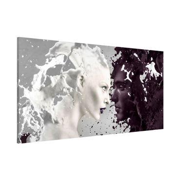 Lavagna magnetica - Milk & Coffee - Panorama formato orizzontale