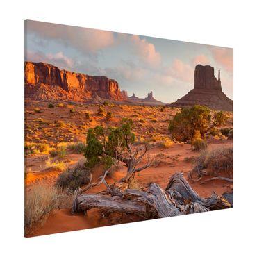 Lavagna magnetica - Monument Valley Navajo Tribal Park Arizona - Formato orizzontale 3:4