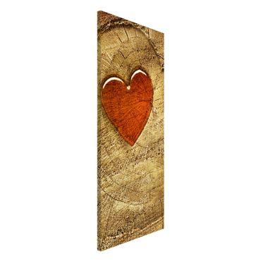 Lavagna magnetica - Natural Love - Panorama formato verticale